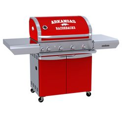 Arkansas Razorbacks Team Grill Patio Series MVP Gas Grill