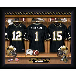 Personalized Purdue Boilermakers Print