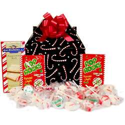 Peppermint Candy Filled Gift Box