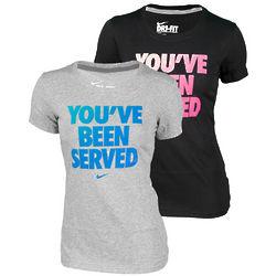 Nike Women's You've Been Served Wimbledon Tennis T-Shirt
