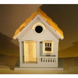 Yellow West Coast Dweller Birdhouse