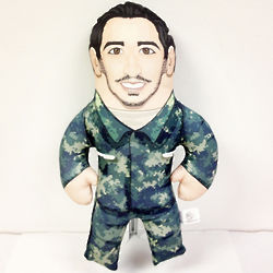 Personalized Stuffed Military Buddy