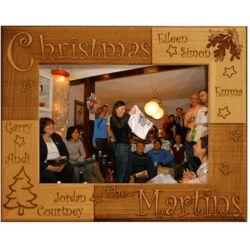 Personalized Christmas Frame