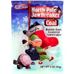 North Pole Coal Jawbreaker Candies