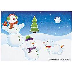 Make-a-Snowman Stickers