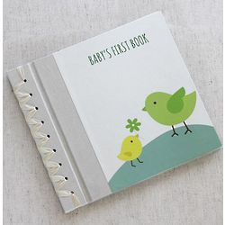Blue Baby Bird Baby's First Book