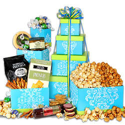 Mom's Sweet Treats Gourmet Gift Tower