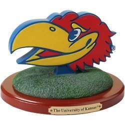 Kansas Jayhawks 3D Logo Figure