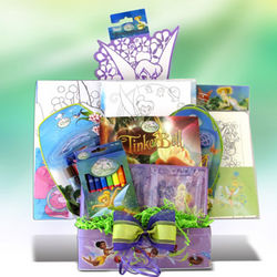 Tinkerbell's Creativity Toys Gift Basket
