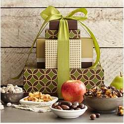Fruits and Nuts Gift Tower