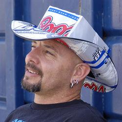 e4e540f0175d0 Coors Light Silver Bullet Beer Box Cowboy Hat - FindGift.com