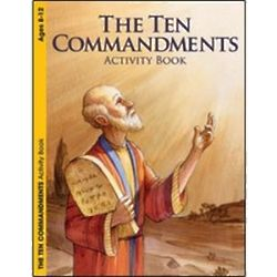 The Ten Commandments Coloring Book