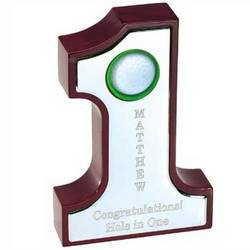 #1 Wooden Golf Keepsake