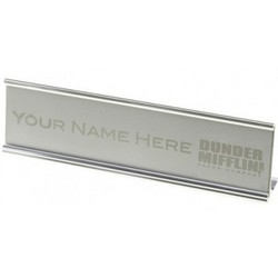 The Office - Dunder Mifflin Personalized Name Plate