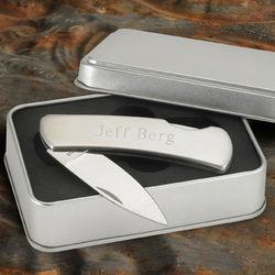 Personalized Lock-Back Knife