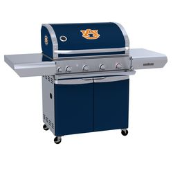 Auburn Tigers Team Grill Patio Series MVP Gas Grill