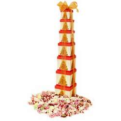 Taffy & Nougat Christmas Candy Gift Tower