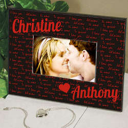 Personalized I Love You Message Frame