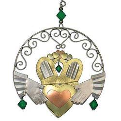 Irish Claddagh Ornament