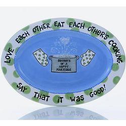 Oval Wedding Platter