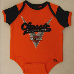 Harley Davidson Newborn and Infant Classic Creeper