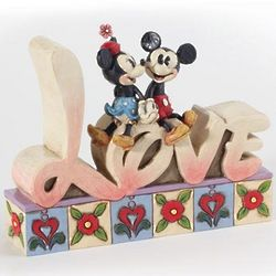 Disney Love Word Plaque