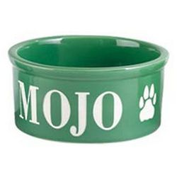 Medium Personalized Pet Bowl Set