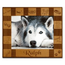 Dog Cutout Personalized Frame
