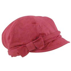 Textured Weave Bow Cap