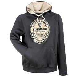 Guinness Black Label Pullover Hoodie