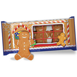 Marshmallow Peep Gingerbread Men