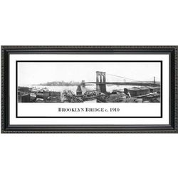 1910 Brooklyn Bridge Framed Print
