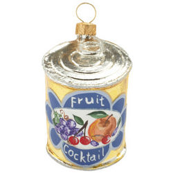 Fruit Cocktail Ornament