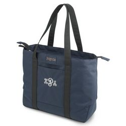 Women's Navy Personalized Laptop Tote