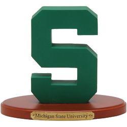 Michigan State Spartans 3D Logo Figure