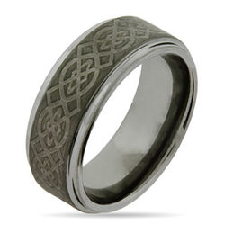 Celtic Design Tungsten Ring