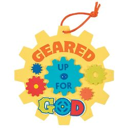 Geared Up for God Gear Ornament Craft Kit