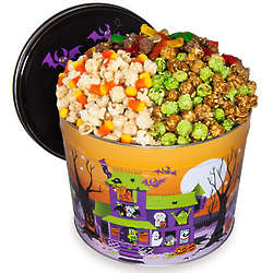 2 Gallons of Popcorn in Goblin's Grub Tin