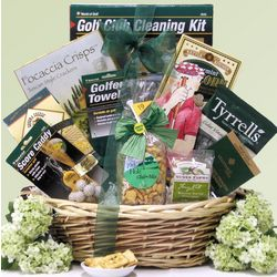Par For The Course Golf Gift Basket