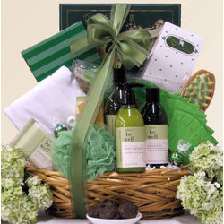 Mother's Day Be Well Rosemary Mint Spa Luxuries Gift Basket