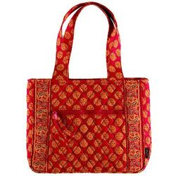 Red Mosaic Handbag