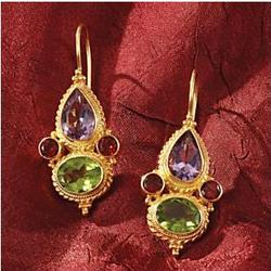 Marco Polo Gemstone Earrings