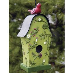 Birds & Berries Bird House