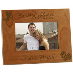Be My Valentine Forever & Always Photo Frame