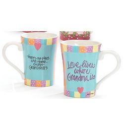 Grandma Mug Love Lives Where Grandma Is Mug