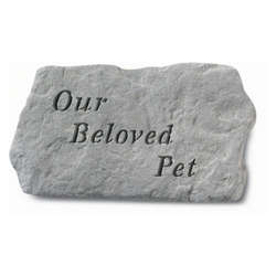 Kay Berry Our Beloved Pet Memorial Stone