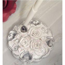 Elegant Rose Wedding Pen Set