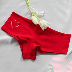Lady's Love Me Tender Red Boy Shorts
