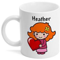 Custom Character Valentine Mug