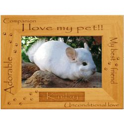 Personalized Pet Alderwood Frame